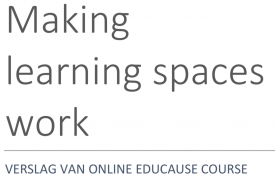 afbeelding titel: Making learning spaces work