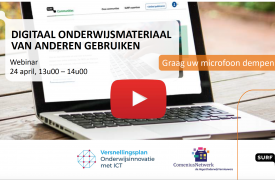 Screenshot voorblad webinar