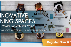 5th Innovative Learning Spaces congres in november in NL