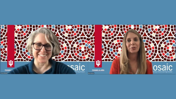 Tracey Birdwell en Julie Johnston van Indiana University over hun Mosaic programma