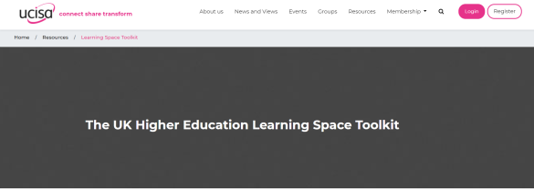 The UK toolkit for HE Learning Spaces