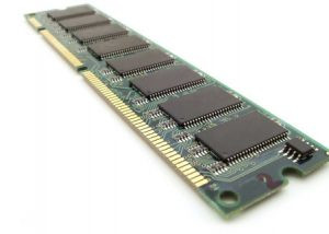 Photo of RAM memory